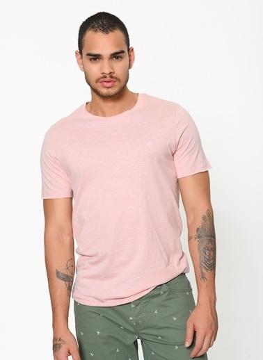 Jack & Jones Desenli T-Shirt Pembe